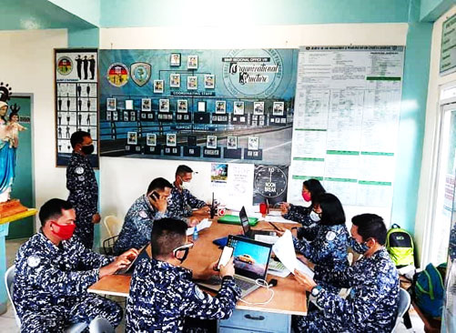 The BJMP Regional Office 8 COVID-19 Task Force Monitoring Team